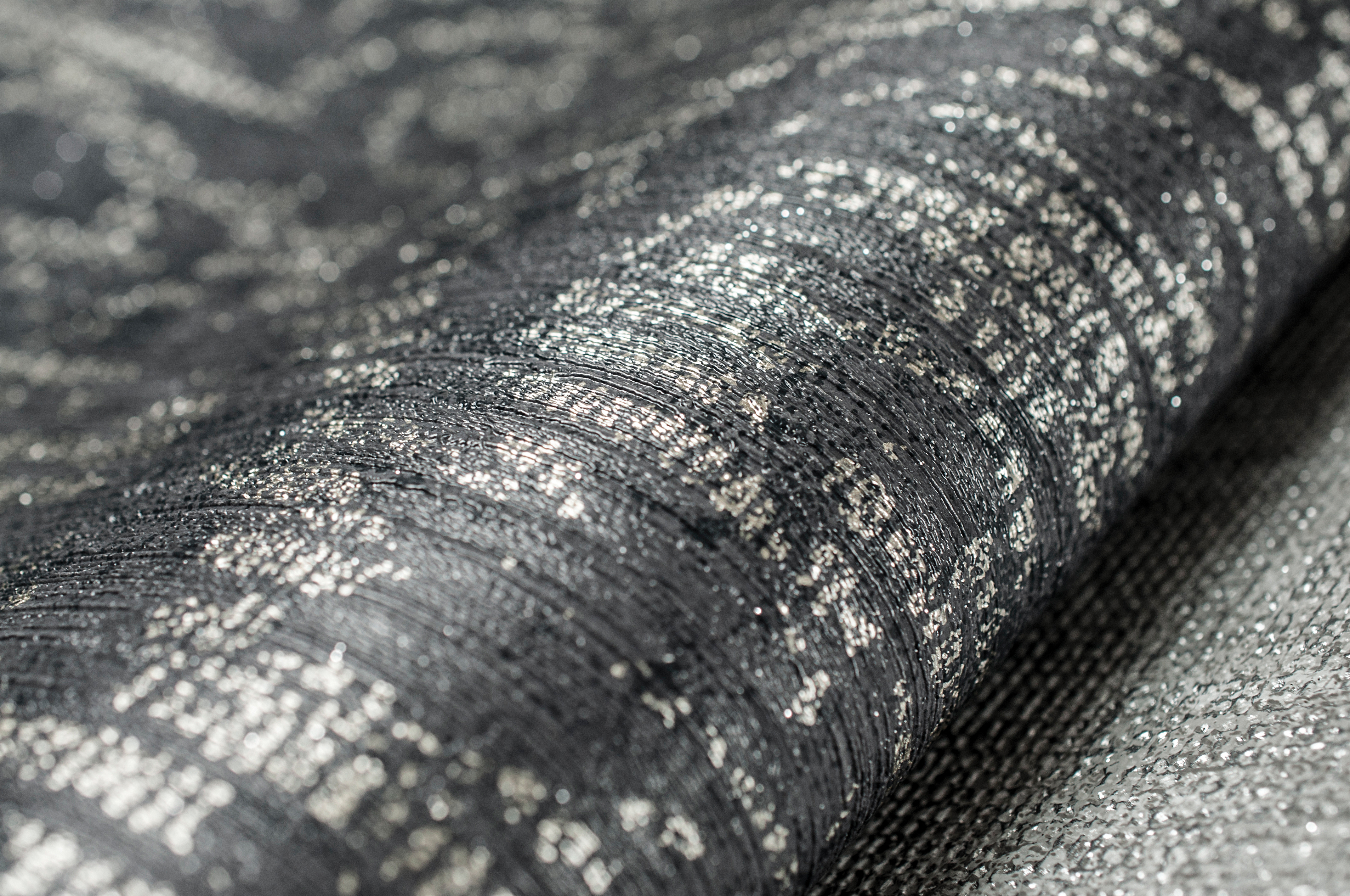 101445 Cashmere Charcoal Champagne Detail 2