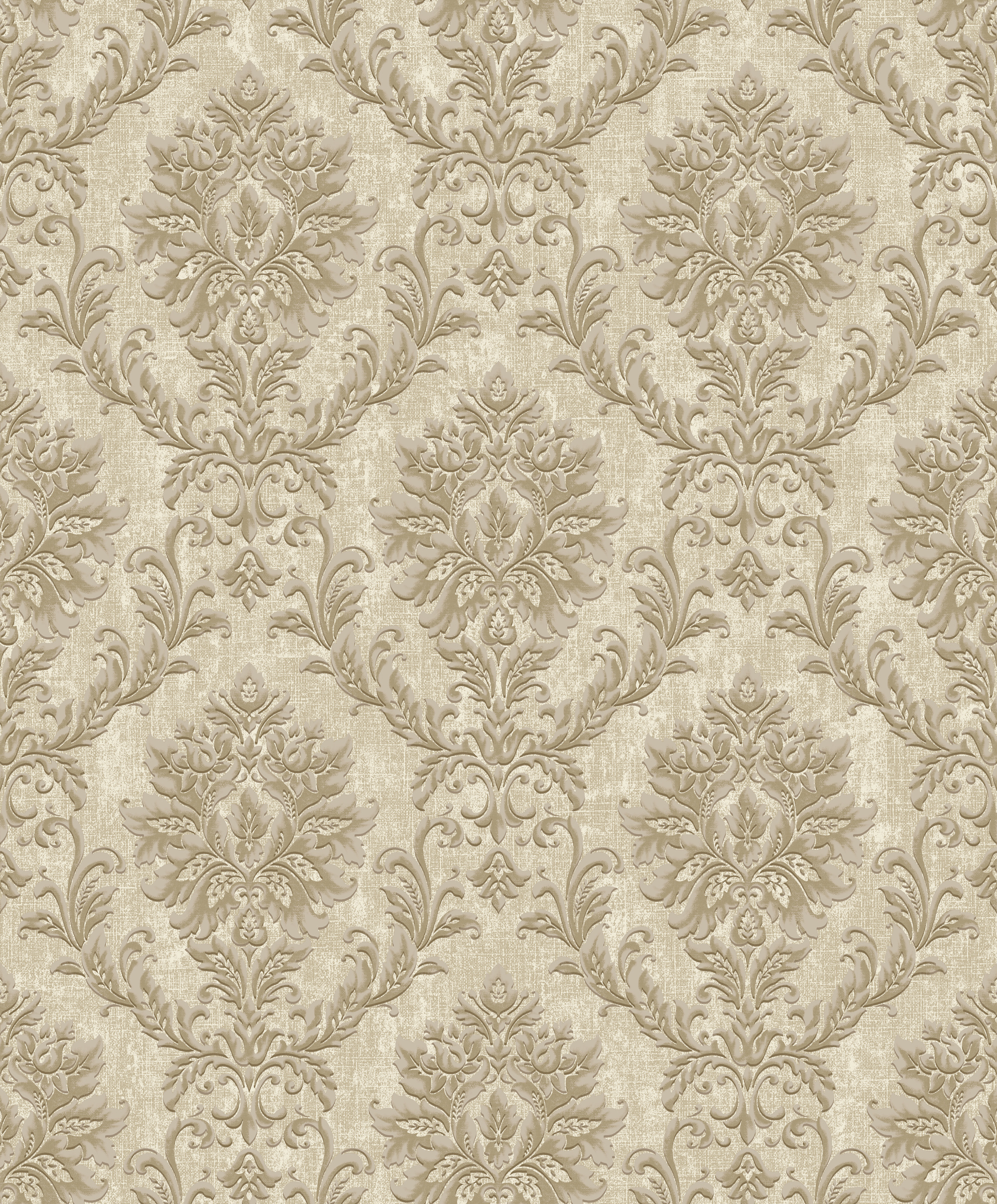 130801 Villa Borghese Small Damask Taupe