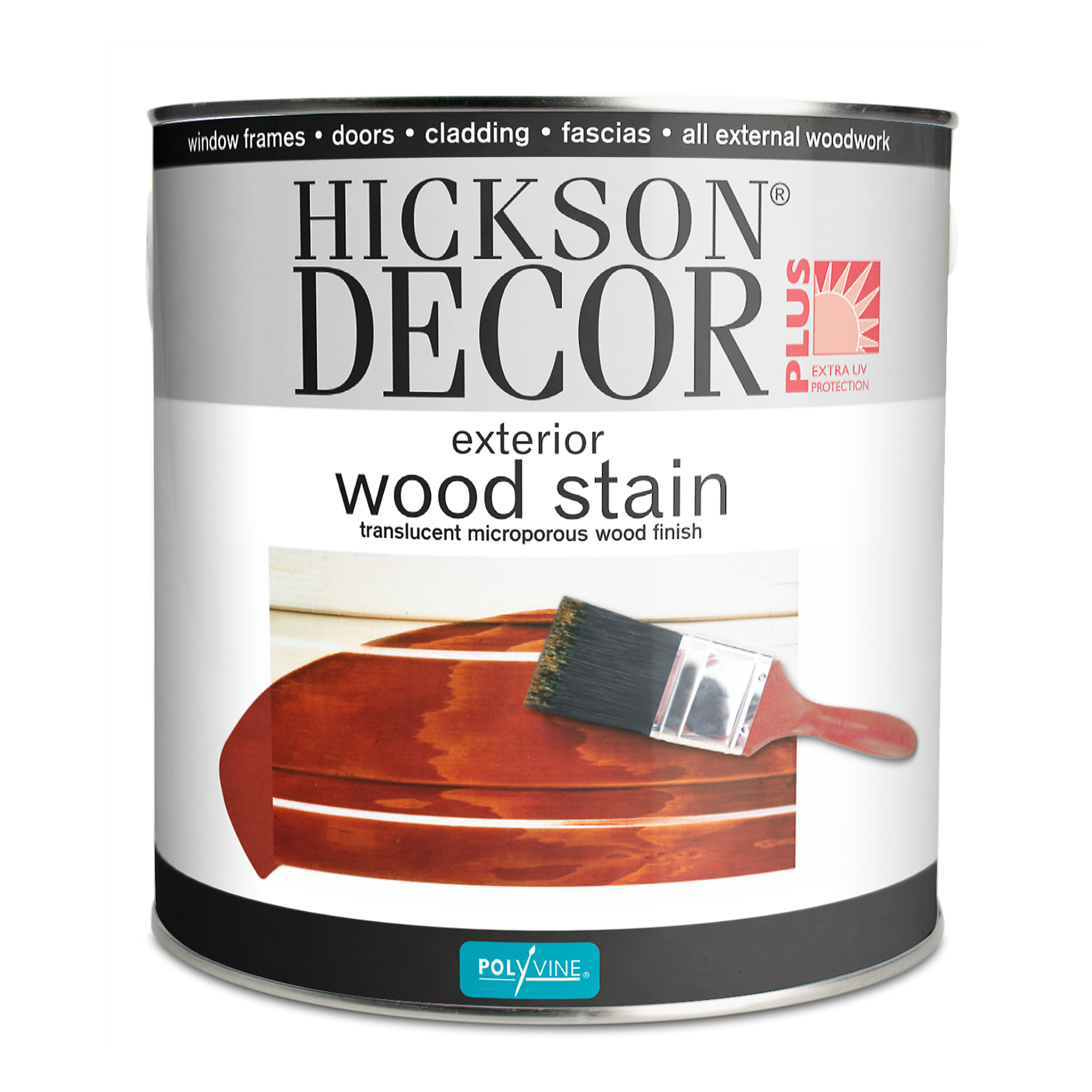 Hickson Decor Wood Stain 2 5 Litre