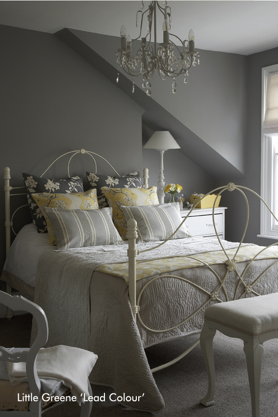 Little Greene Bedroom – Lead Colour
