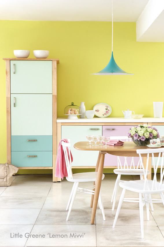 Little Greene Kitchen – Lemon Mivvi