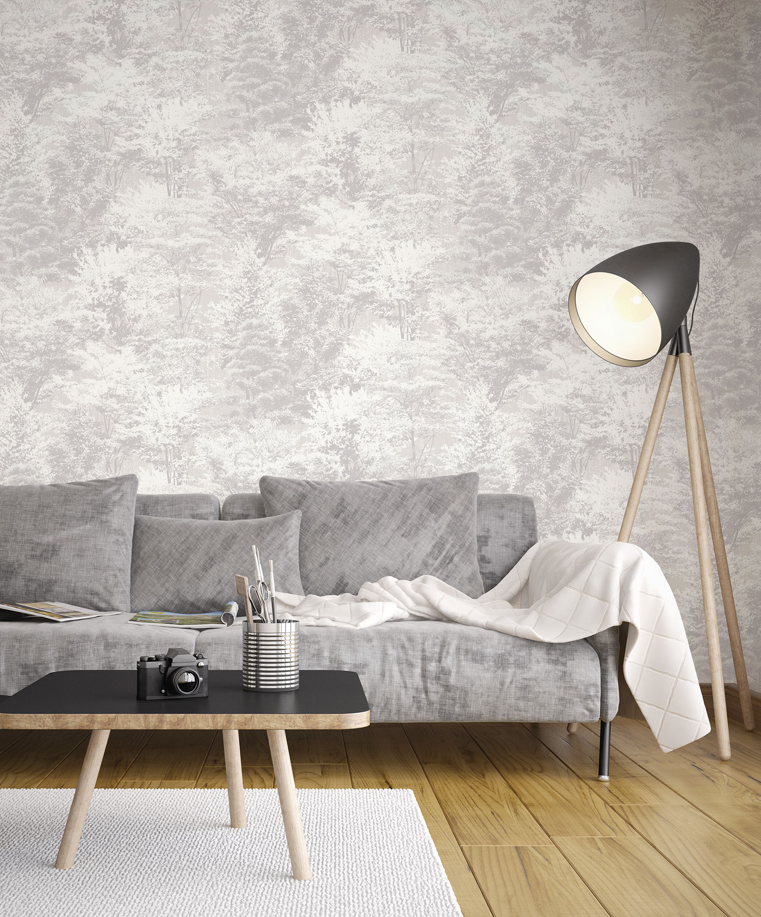 M1336 Sycamore Grey Wallpaper RS