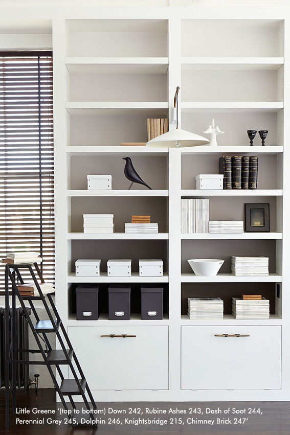 Study Shelving – Grey